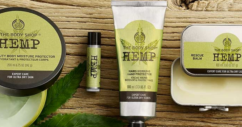 How Ebates Works >> The Body Shop: FOUR Hemp Products Only $20 – Just $5 Each!   Saving With Candy