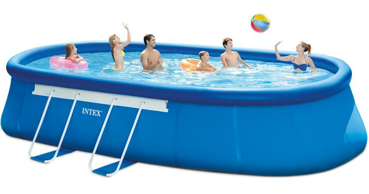Amazon Intex Pool W Filter Pump Ladder Ground Cloth Pool Cover Just Delivered